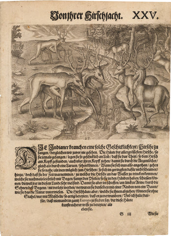 1655 [Indians Hunting Stags.]
