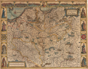 A Newe Mape of Poland by John Speed 1626