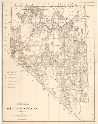 1876 State of Nevada
