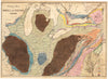 Geological Map of the Middle and Western States By: James Hall Date: 1843