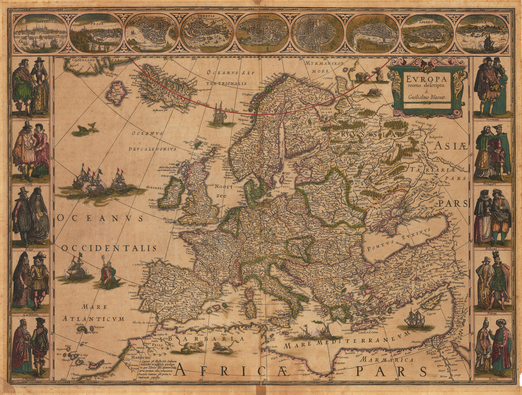 1635 Europa recens descripta