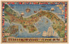 Pictorial Map of the Republic of Panama with the Canal Zone By: John F. Herman and Clark Teegarden Date: 1940
