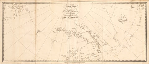 1821 General Chart shewing the track of H.M. Ships Hecla & Griper...