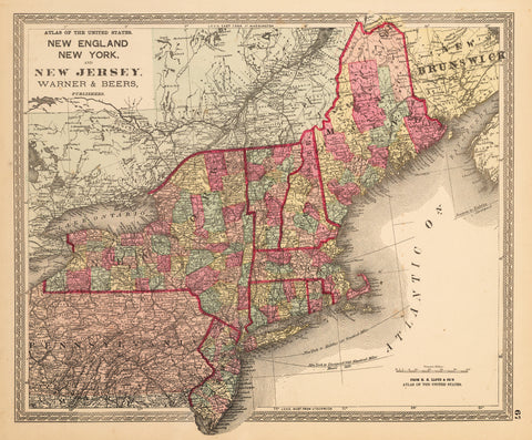1872 New England, New York, and New Jersey.
