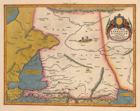 Northern Asia – New World Cartographic