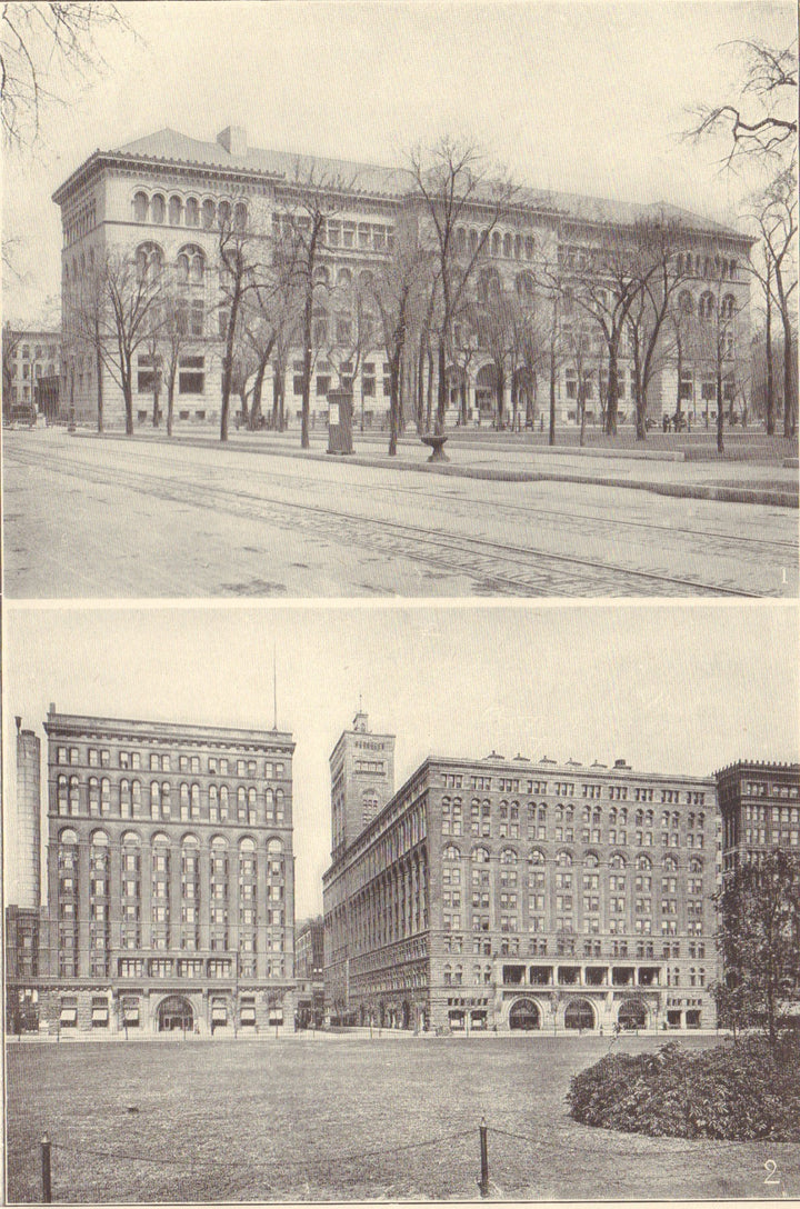 Newberry and Auditorium, 1907