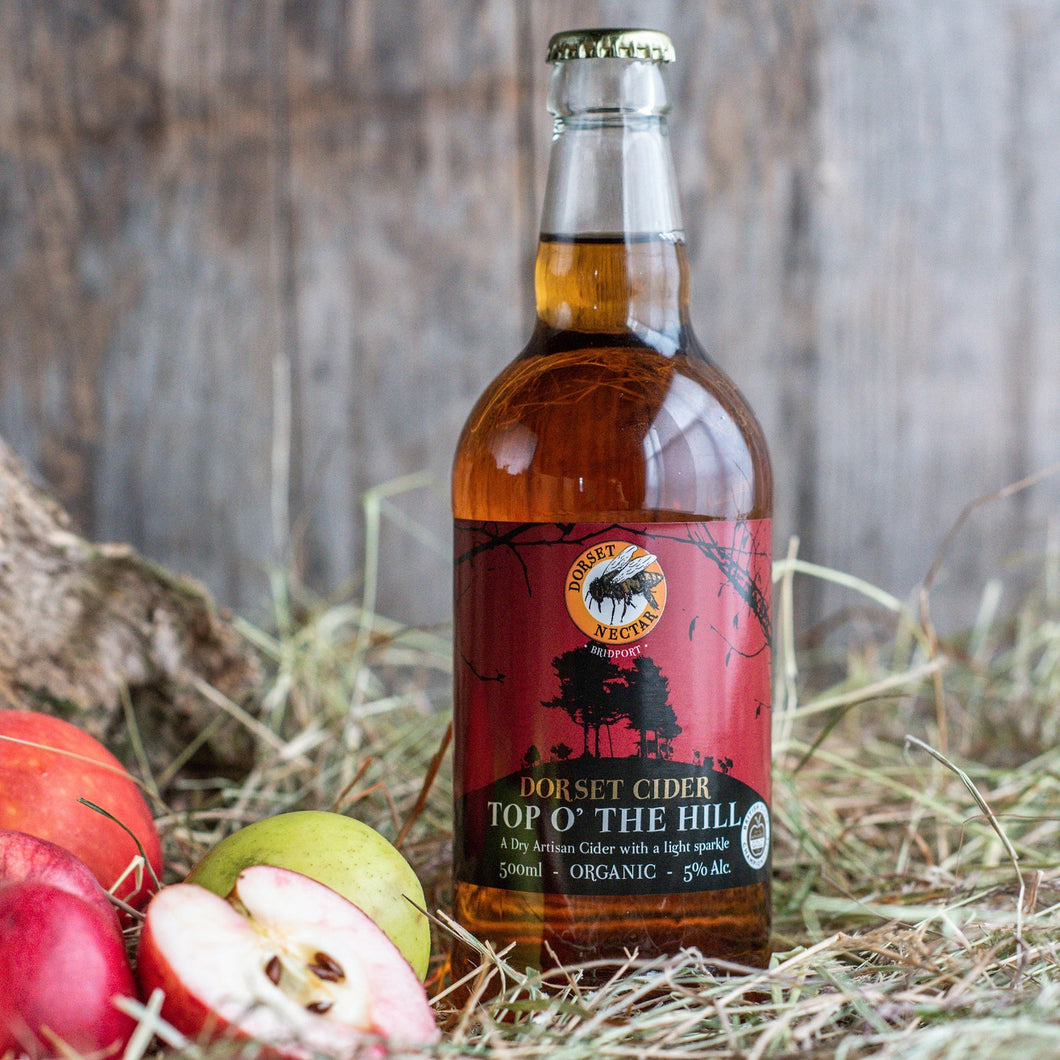 Top O' the Hill lightly sparkling Cider 5% Alc.