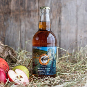 Medium-Sweet Cider 4% Alc. by Dorset Nectar