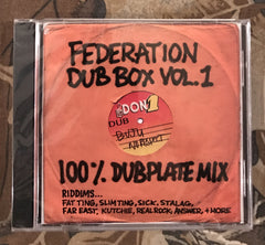 Federation Sound Classic CD 3 pack + Sticker