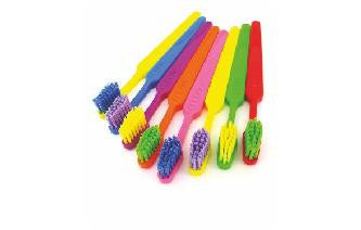 Kids Fluorescent Fun Colored Toothbrushes