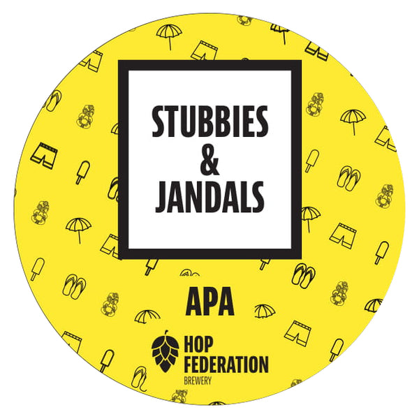 Stubbies and Jandals APA