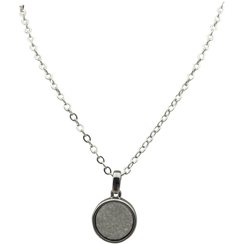 "0.5"" Druzy Necklace - East Meets West USA"