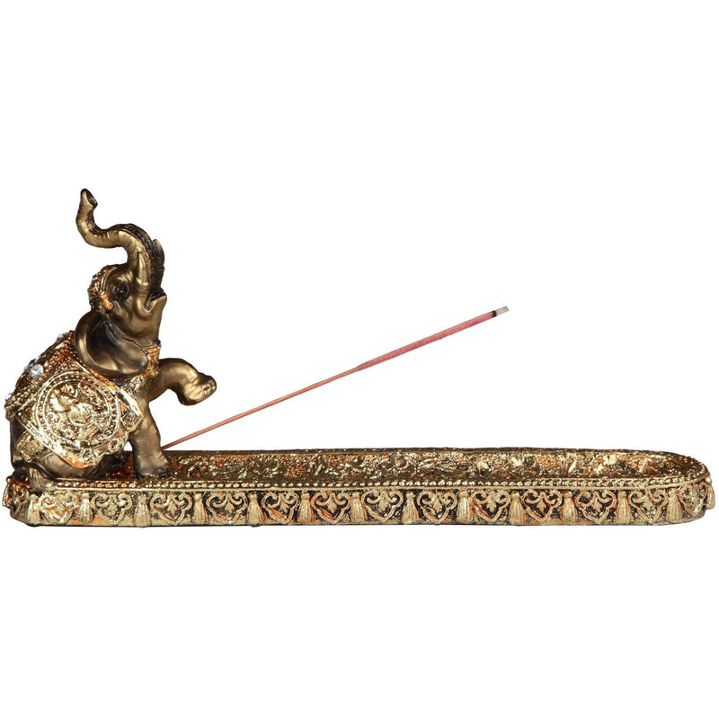 "10"" Thai Standing Elephant Incense Burner - East Meets West USA"