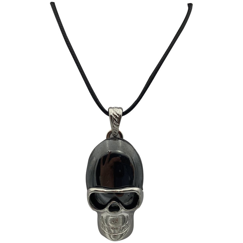 "1.25"" Skull w/ Gemstone on Cord - East Meets West USA"