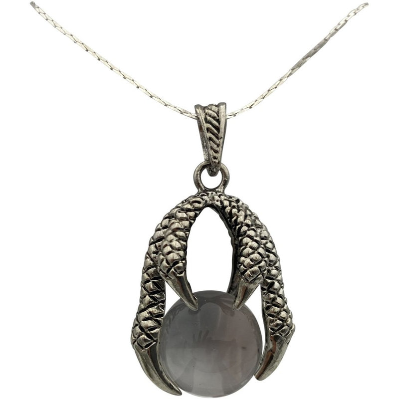 "1.50"" Dragon Claw Necklace w/ Sphere - East Meets West USA"