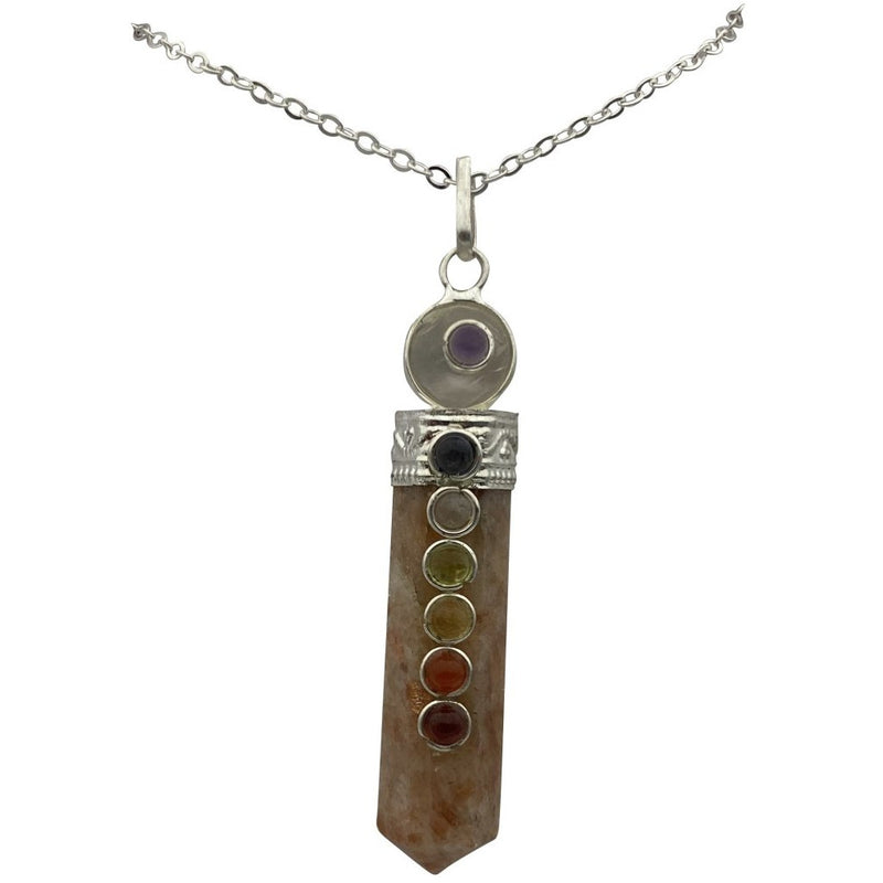 "2"" Capped Chakra w/ Crystal Point - East Meets West USA"