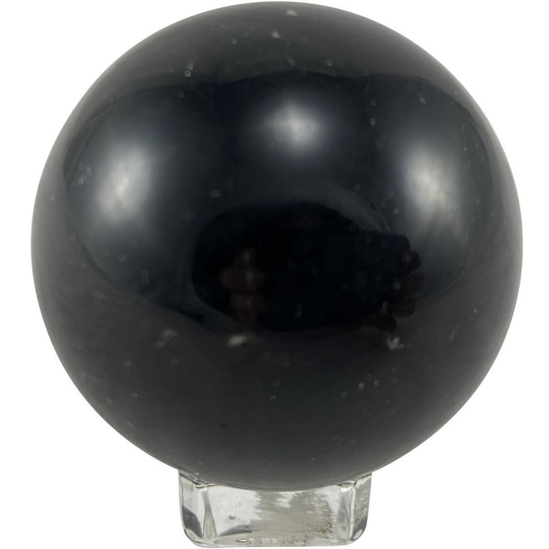 "2.5"" Obsidian Sphere - East Meets West USA"