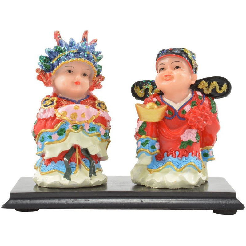 Feng Shui Bride and Groom Figurine - East Meets West USA