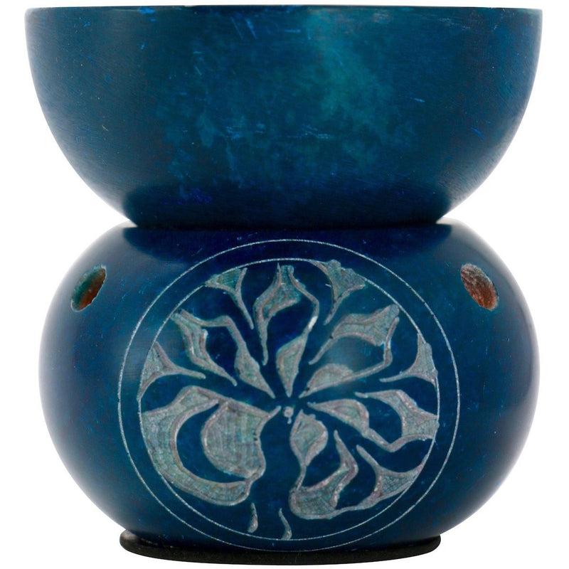 "3.25"" Soapstone Tree of Life Oil Burner - East Meets West USA"