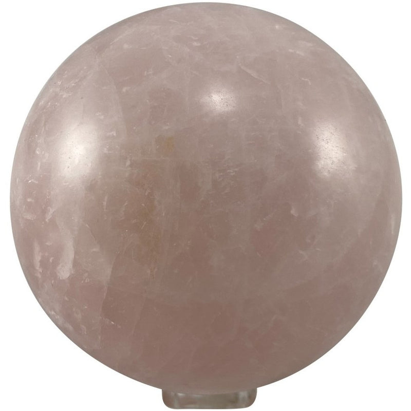"4"" Rose Quartz Sphere - East Meets West USA"