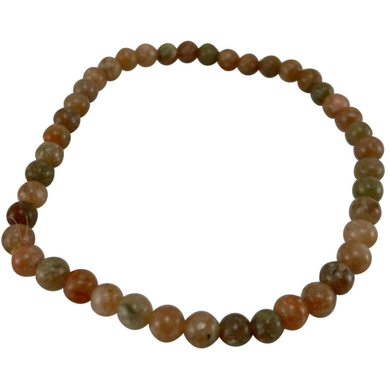 4mm Autumn Jasper Bracelet - East Meets West USA