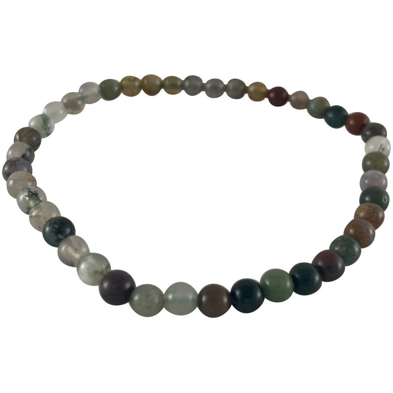 4mm Fancy Jasper Bracelet - East Meets West USA