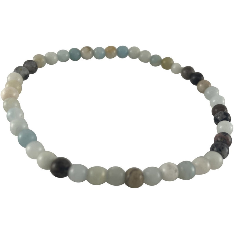 4mm Mixed Amazonite Bracelet - East Meets West USA