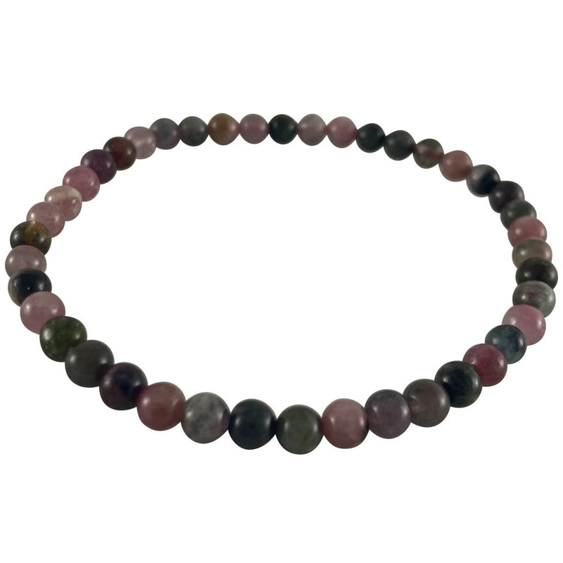 4mm Mixed Tourmaline Bracelet - East Meets West USA