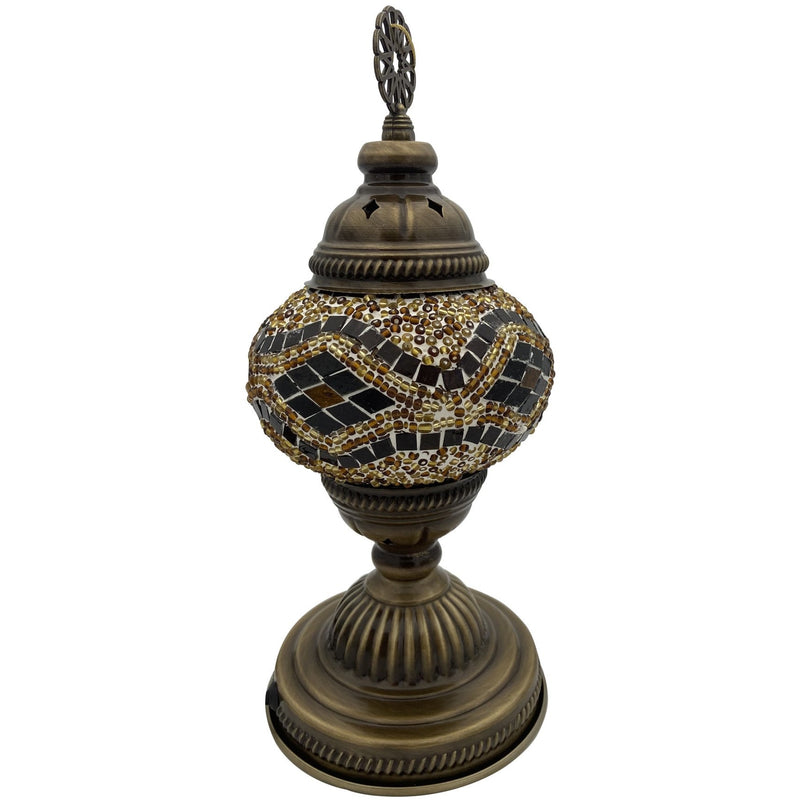 "5"" Brown Turkish Lamp - East Meets West USA"