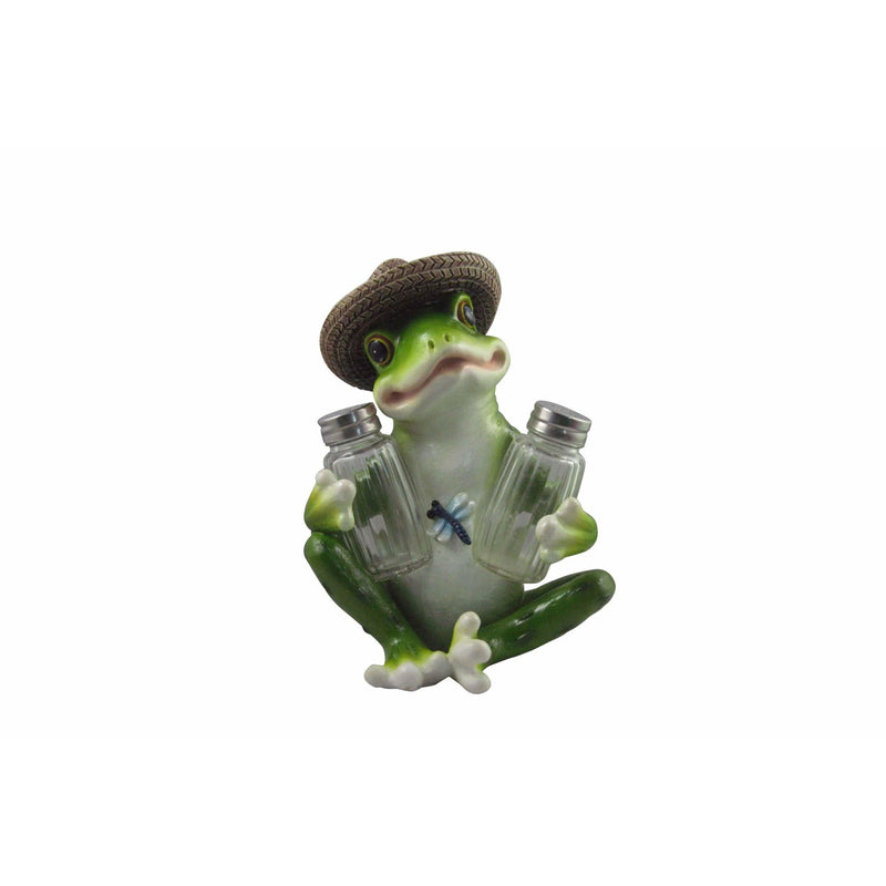 "7.5"" Frog Spice Holder - East Meets West USA"