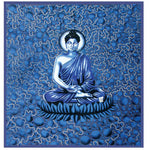 "80""x60"" Bubble Buddha Tapestry - East Meets West USA"