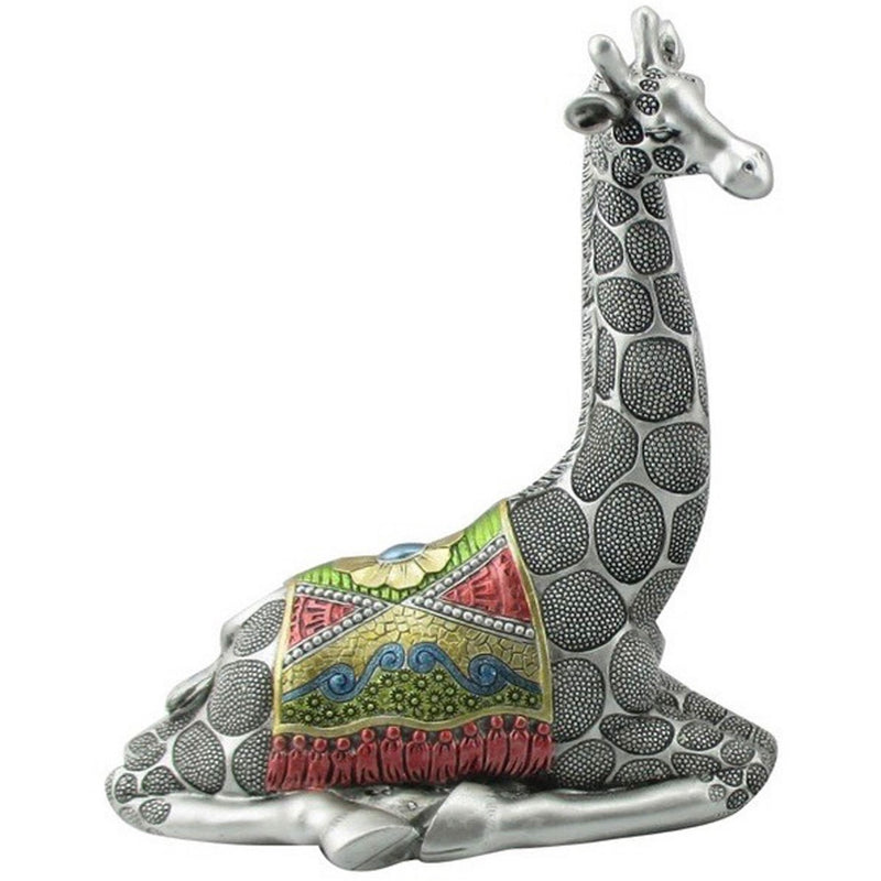 "9"" Sitting Giraffe Figurine - East Meets West USA"