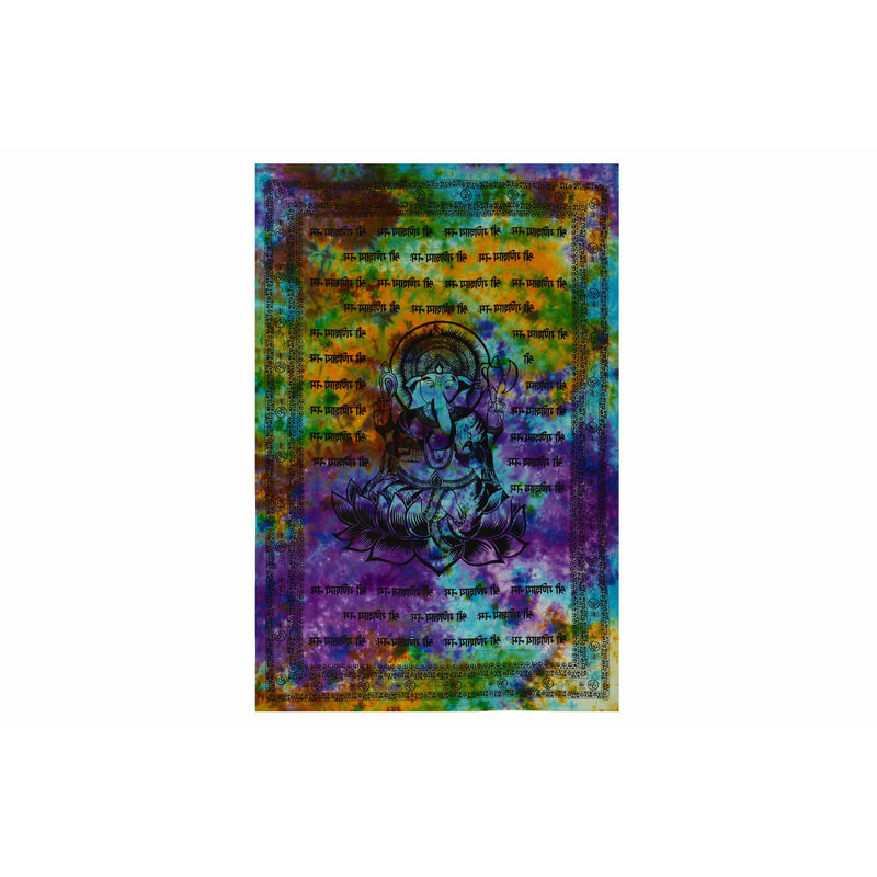 "90""x60"" Ganesha Tapestry - East Meets West USA"