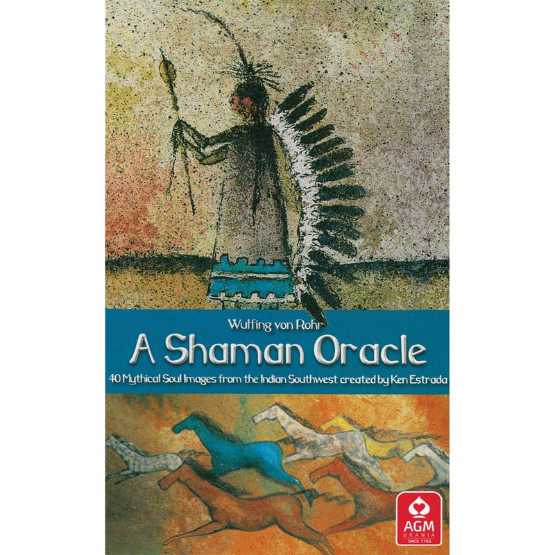 A Shaman Oracle: 40 Mythical Soul Images from the Indian Southwest - East Meets West USA
