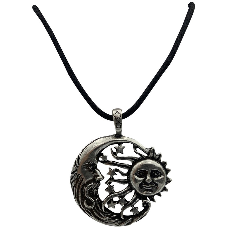 Celestial Carded Wind Blown Pendent Necklace - East Meets West USA