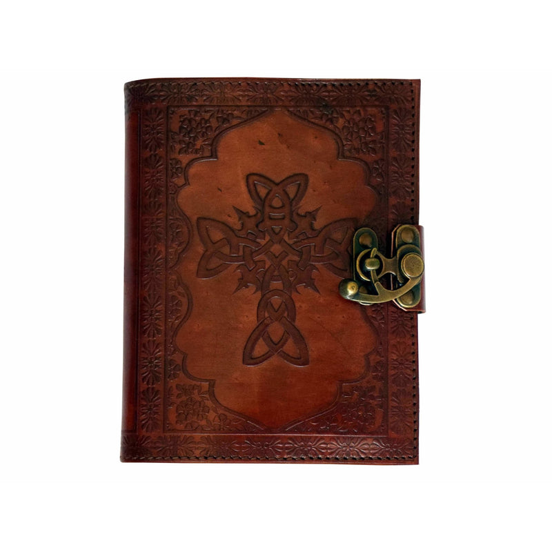 Celtic Leather Embossed Journal - East Meets West USA
