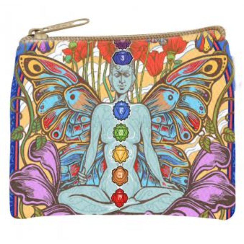 Chakra Lotus Coin Purse - East Meets West USA