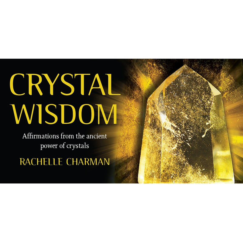 Crystal Wisdom Inspiration Cards - East Meets West USA