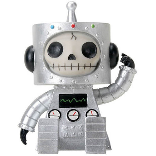 "Furrybones Robot ""Chip"" - East Meets West USA"