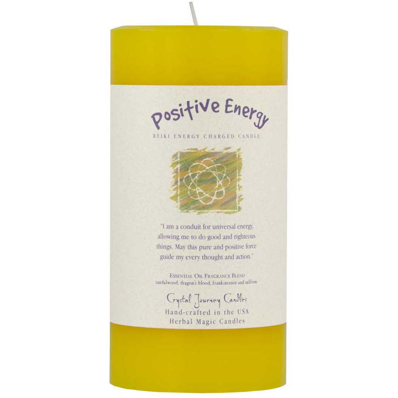 Herbal Magic 3x6 Pillars: Positive Energy - East Meets West USA