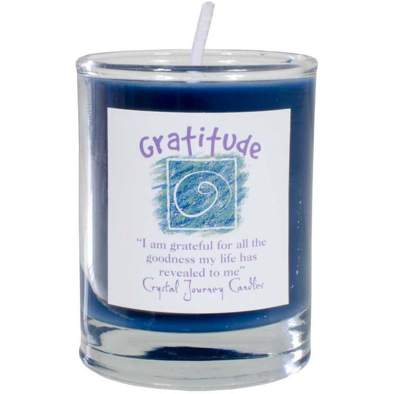 Herbal Magic Votive: Gratitude - East Meets West USA