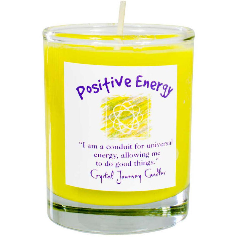 Herbal Magic Votive: Positive Energy - East Meets West USA
