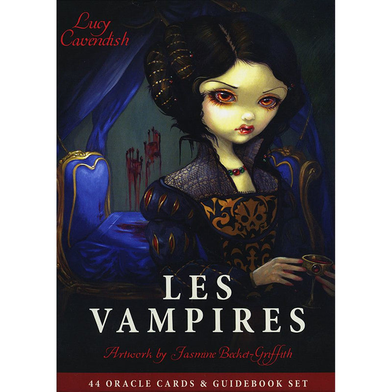Les Vampires Oracle Cards and Guidebook - East Meets West USA