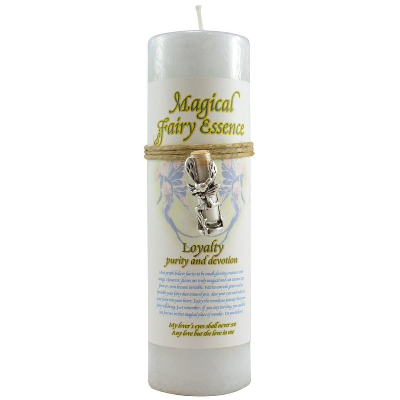 Magical Fairy Essence Candle: Ageless with Pendant - East Meets West USA