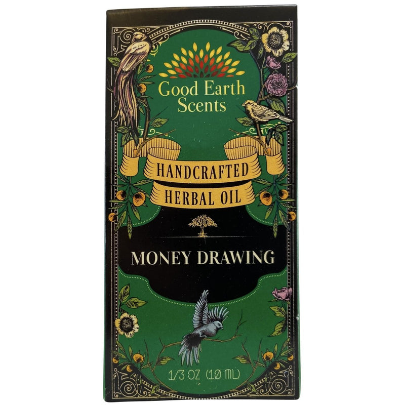 Money Drawing Handcrafted Herbal Oil - East Meets West USA