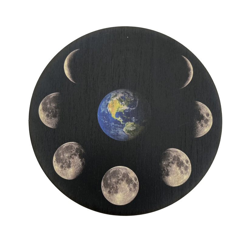 Moon Phase Around Mother Gaia Crystal Grid - East Meets West USA