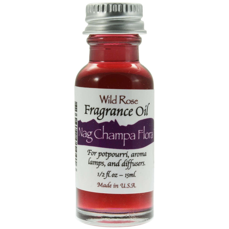 Nag Champa Flora Fragrance Oil - East Meets West USA