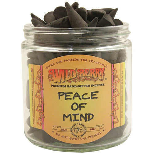 Peace of Mind Incense Cones - East Meets West USA