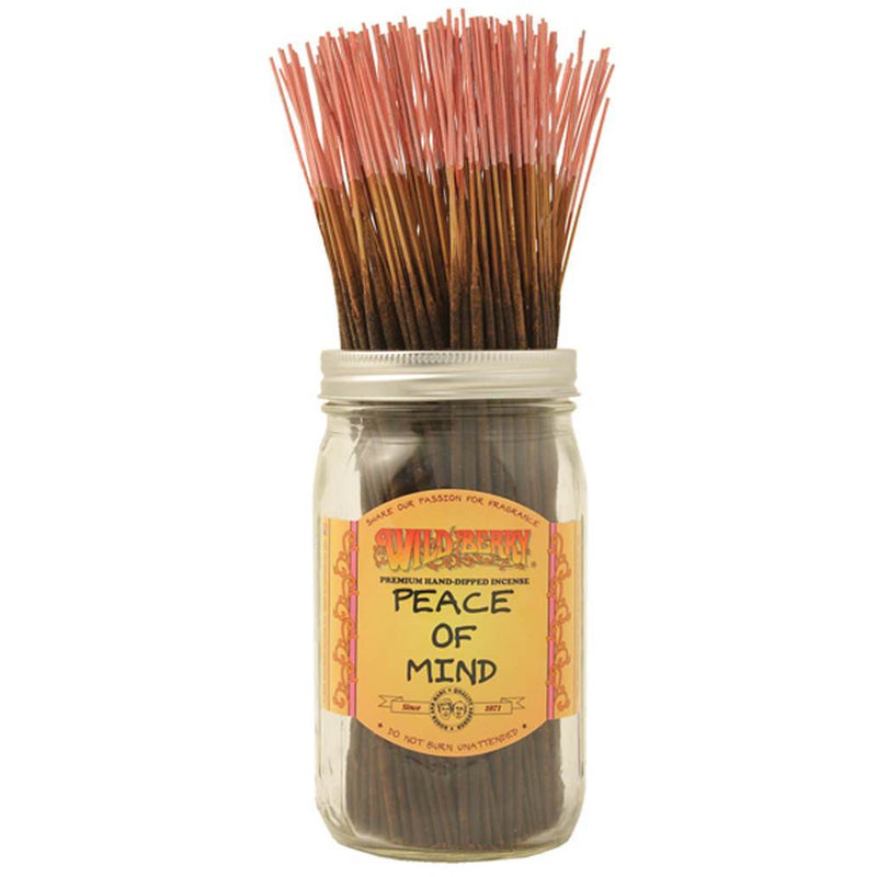 Peace of Mind Incense Sticks - East Meets West USA