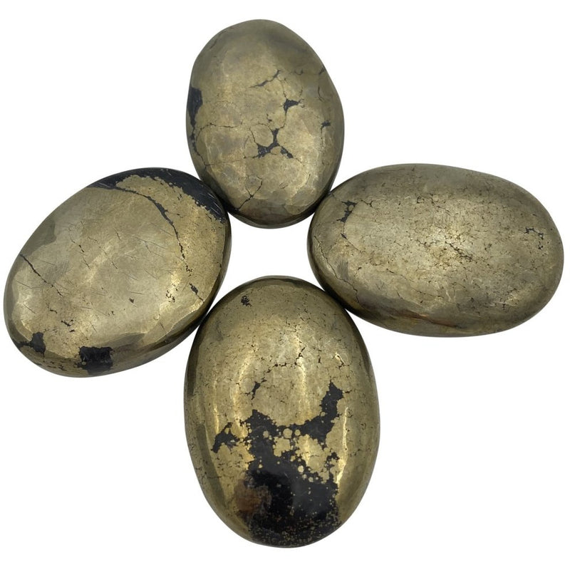Pyrite Worry Stone - East Meets West USA